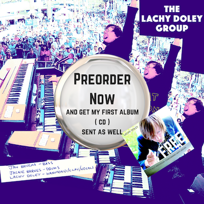 Lachy Doley - Hammond Organ / Whammy Clavinet Player / Singer